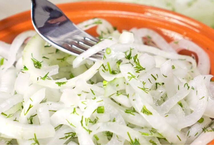 маринованный лук для шашлыка как в шашлычной
