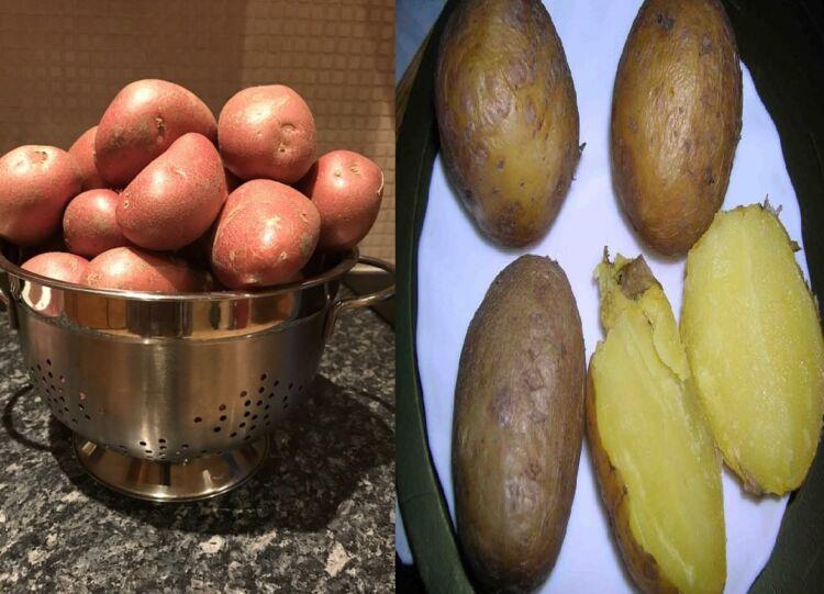 как сварить картошку в мундире