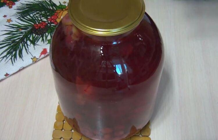 вишневый мохито на зиму