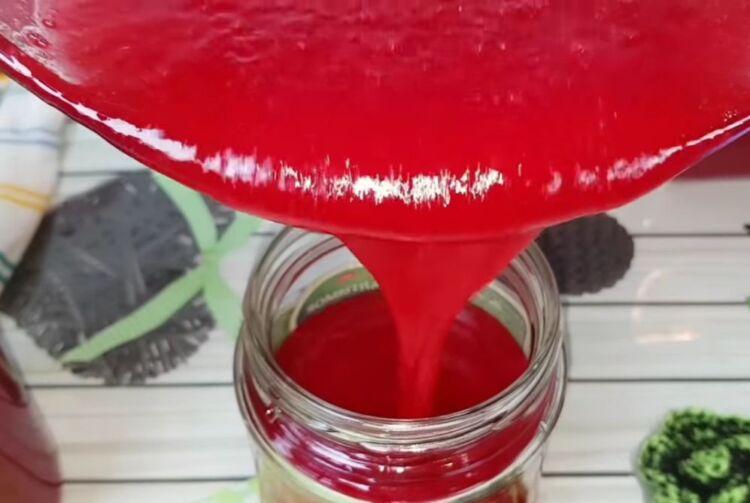 желе из красной смородины без варки на зиму для хранения в холодильнике