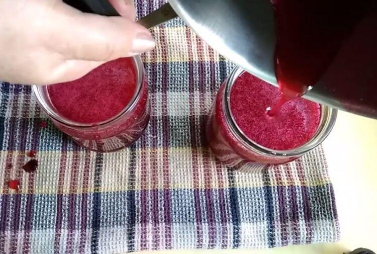 как сделать желе из красной смородины и малины