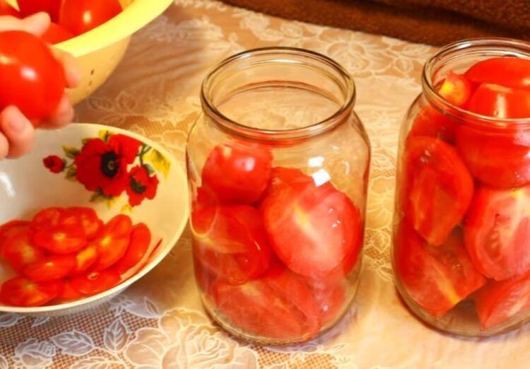 помидоры в томате