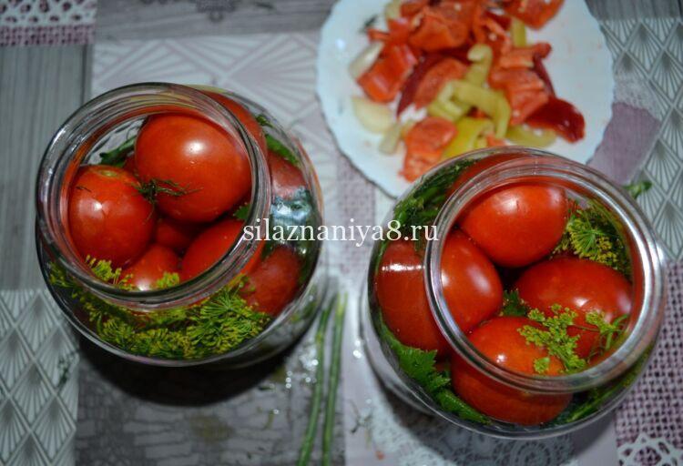 Сладкие помидоры без уксуса на зиму и без стерилизации