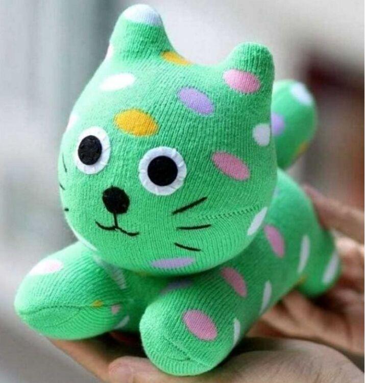 игрушка своими руками кот