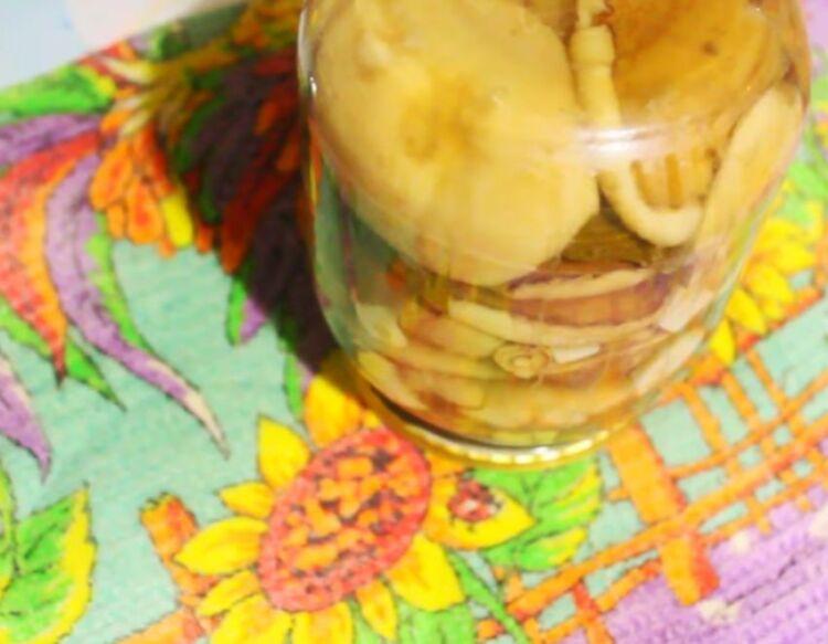 маслята с лимонной кислотой на зиму