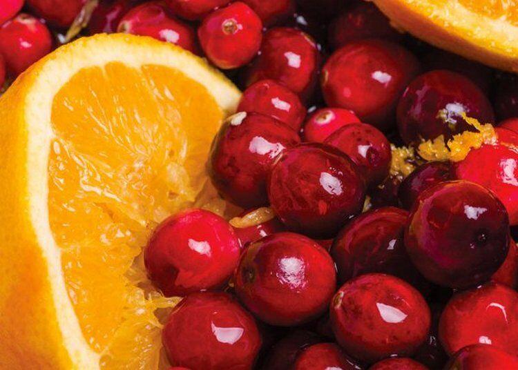 Варенье клюква с апельсином и сахаром через мясорубку