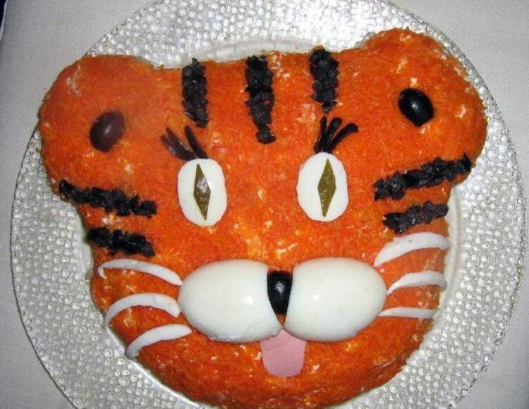 салат тигр
